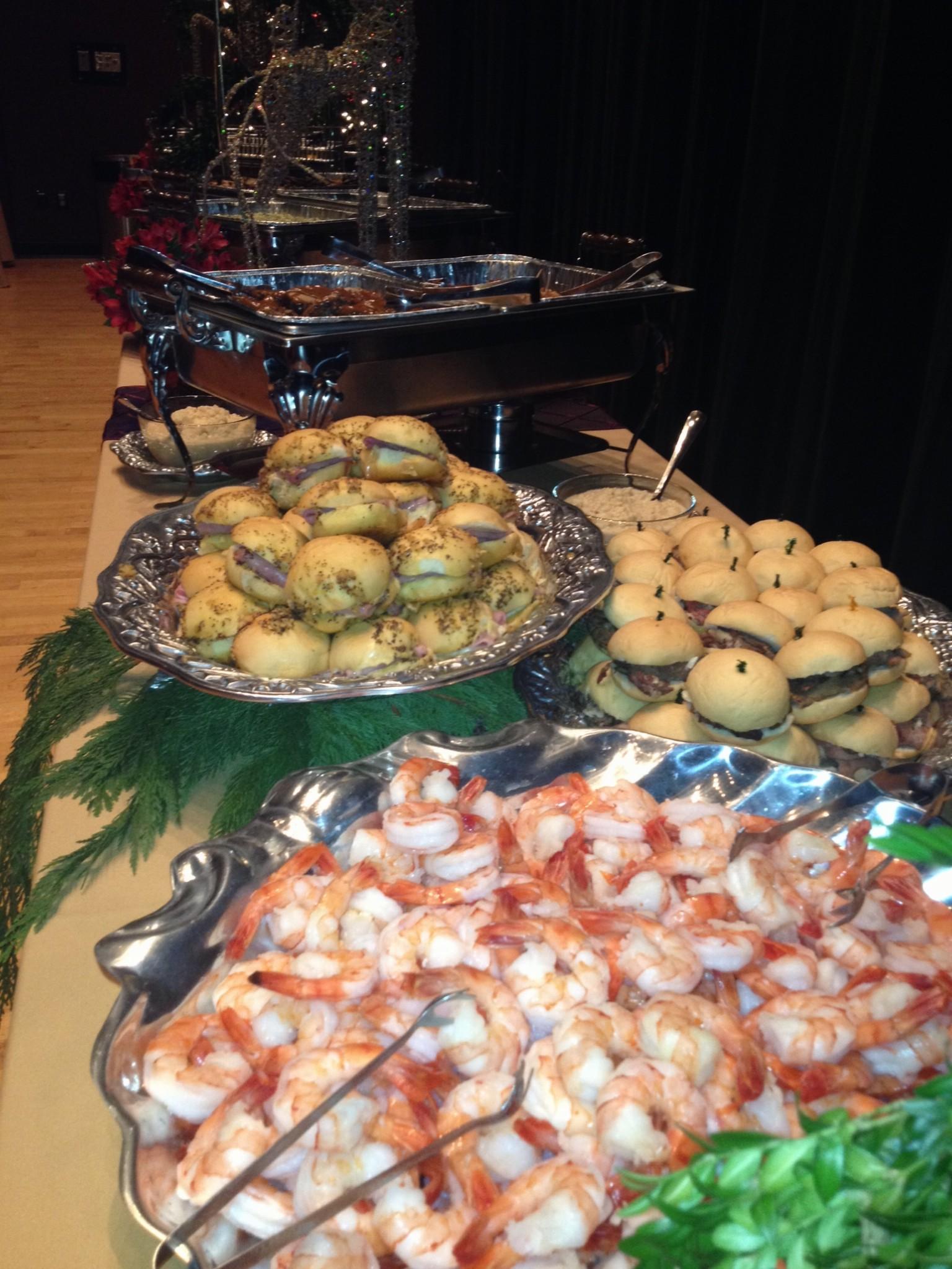 Shrimp Burgers Catering