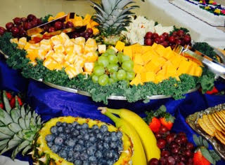 catering fruit assortment