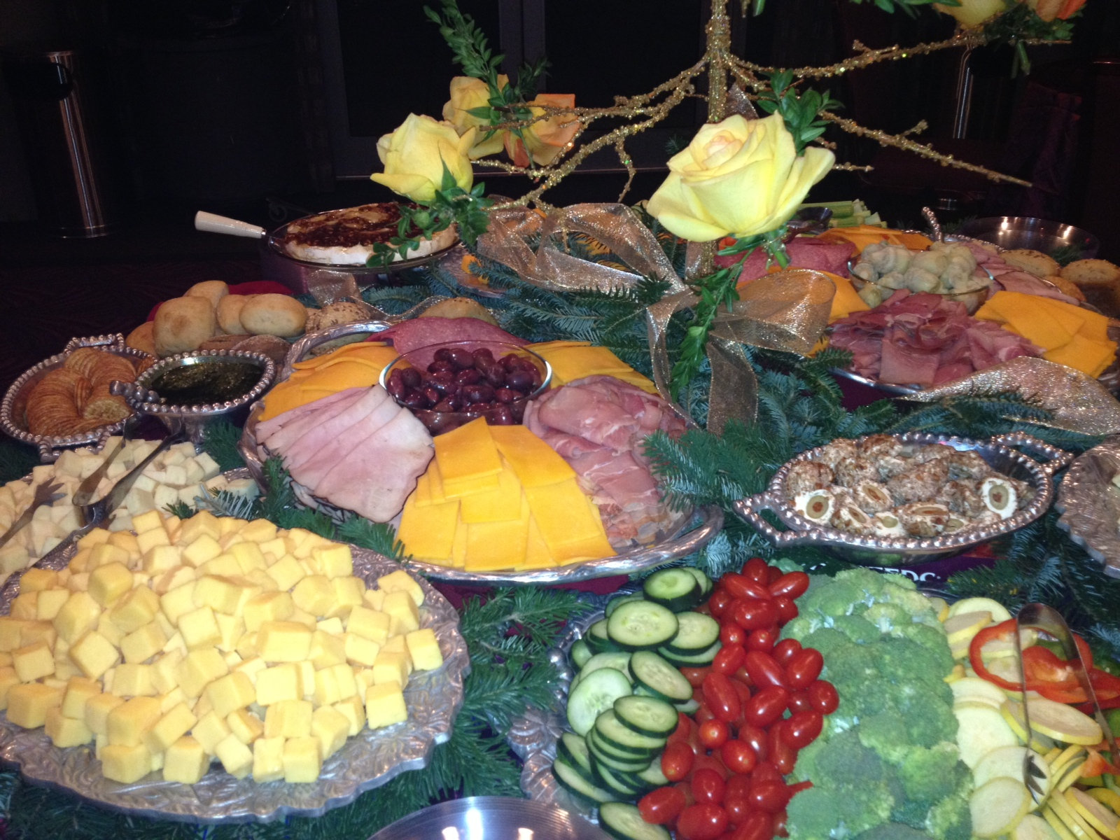 Meat & Cheese Platter Catering