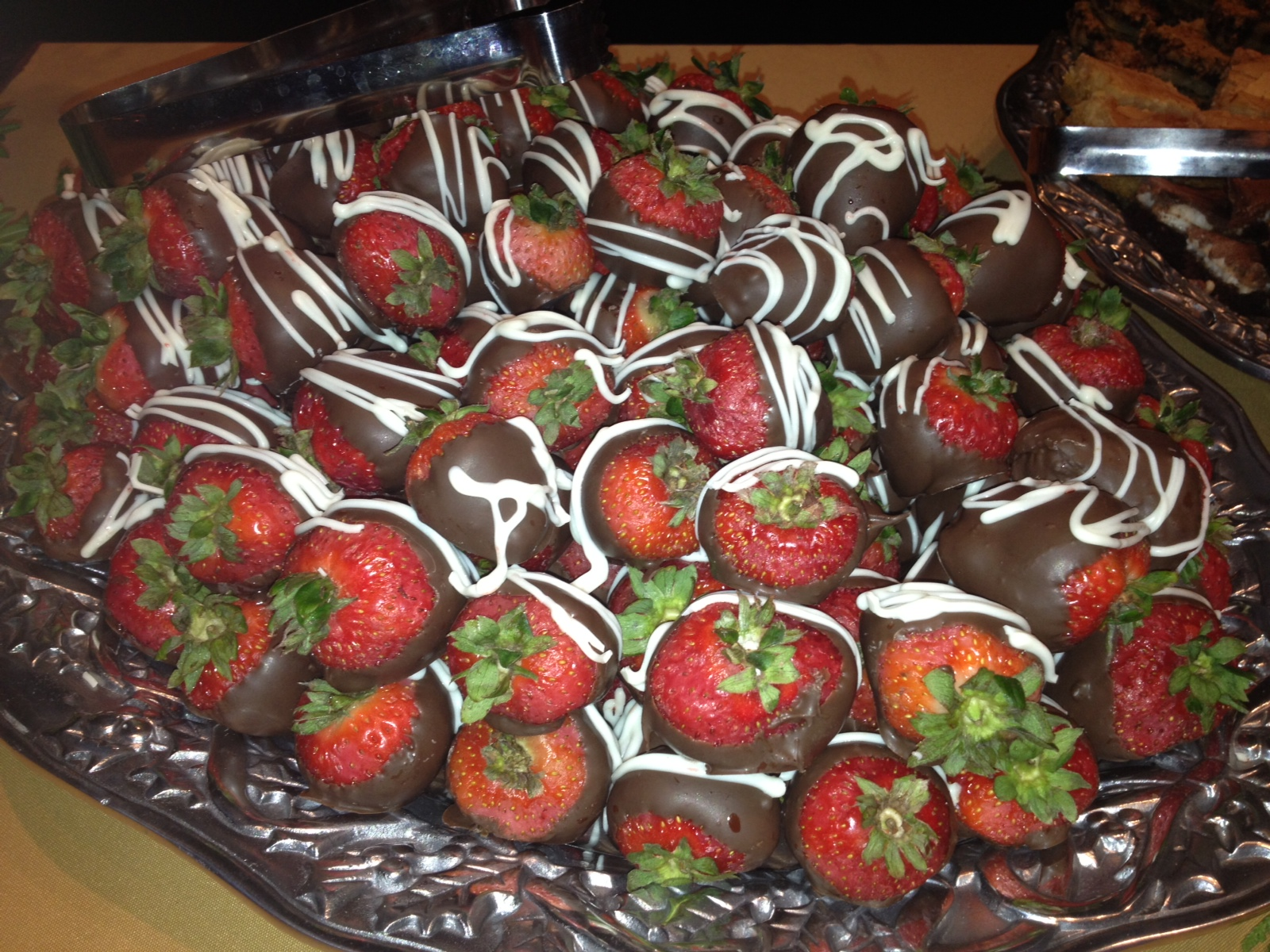 Dipped Strawberries Catering