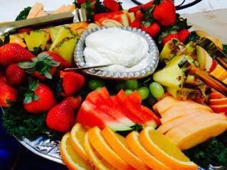 Fruit & Dip Tray